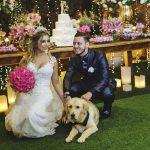 O grande dia de Larissa & Emerson: um casamento clássico e romântico no Buffet Cedrom. 4