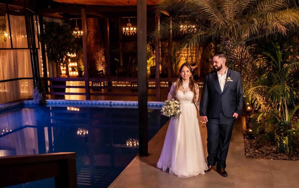 Espaço para casamento com piscina em são paulo
